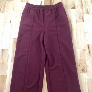 Topshop Cropped Wide Leg Trouser